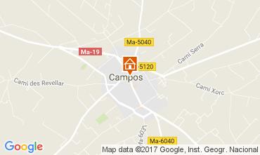 Carte Campos Gite 111077