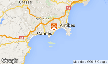Carte Cannes Appartement 24962