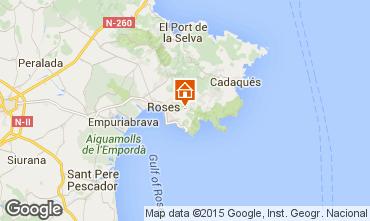 Carte Rosas Villa 92737