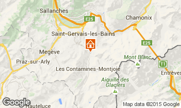 Carte Saint Gervais Mont-Blanc Appartement 18013
