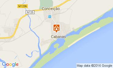 Carte Cabanas de Tavira Appartement 86261