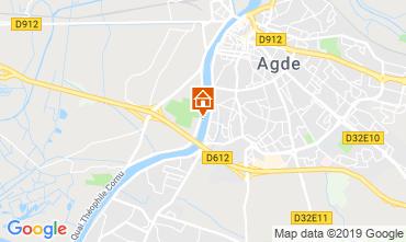 Carte Agde Mobil-home 51877