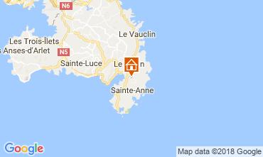 Carte Sainte Anne (Martinique) Villa 73359