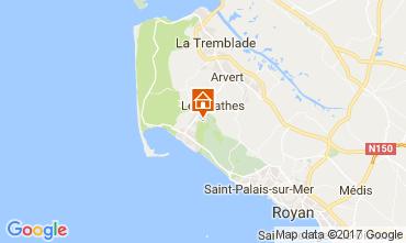 Carte La Palmyre Mobil-home 67270