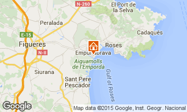 Carte Empuriabrava Appartement 53422
