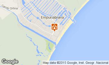 Carte Empuriabrava Appartement 53422