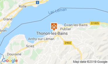 Carte Thonon Les Bains Appartement 115294