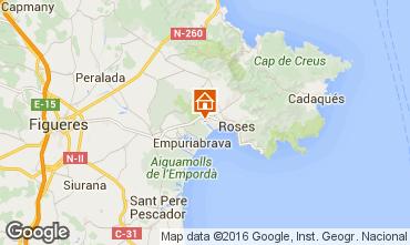 Carte Rosas Villa 96439