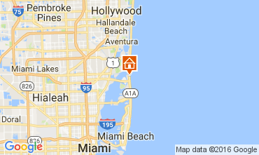 Carte Miami Beach Appartement 47405