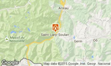 Carte Saint Lary Soulan Studio 4468
