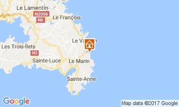 Carte Le Marin Appartement 111902