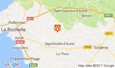 Carte La Rochelle Hébergement insolite 112461
