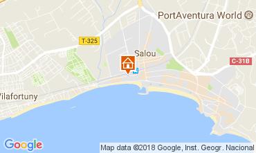 Carte Salou Villa 113021