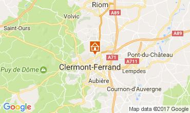 Carte Clermont-Ferrand Studio 109355