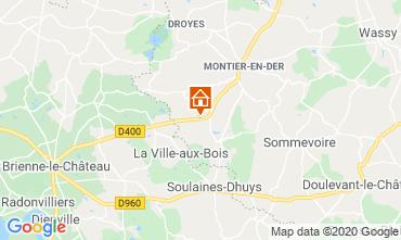 Carte Colombey-les-Deux-Églises Gite 72063