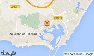 Carte Cap d'Agde Studio 98802