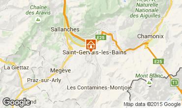 Carte Saint-Gervais-les-Bains Studio 86819