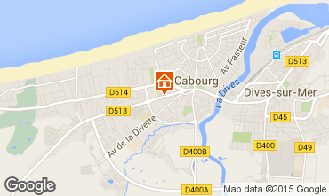 Carte Cabourg Appartement 97157