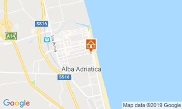 Carte Alba Adriatica Appartement 118420