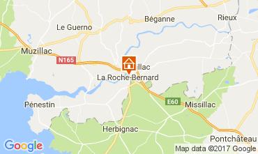 Carte La Roche-Bernard Appartement 108231