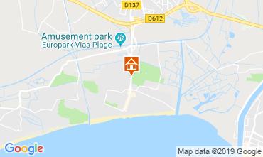 Carte Cap d'Agde Mobil-home 117795