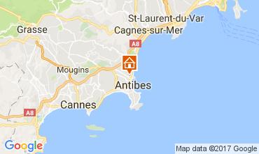 Carte Antibes Villa 110758