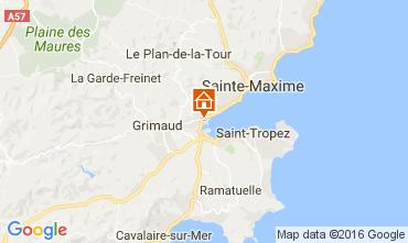 Carte Port Grimaud Mobil-home 14842