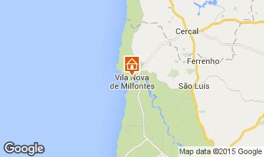 Carte Vila nova de Milfontes Appartement 42568