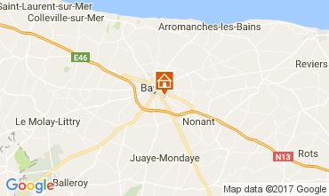 Carte Bayeux Gite 78802