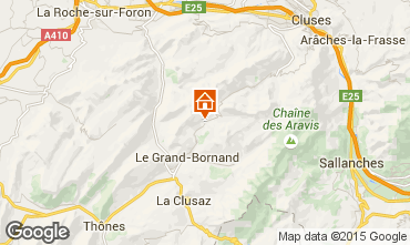 Carte Le Grand Bornand Chalet 68133