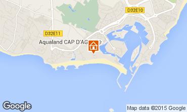 Carte Cap d'Agde Appartement 62881