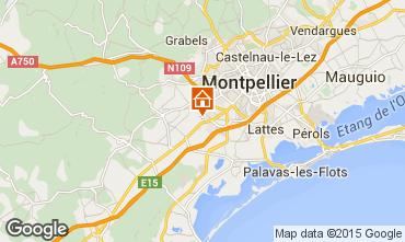 Carte Montpellier Villa 76444