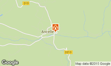 Carte Ancelle Chalet 68591