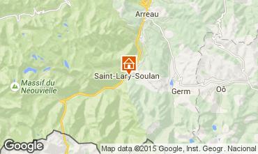 Carte Saint Lary Soulan Appartement 61229