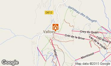 Carte Valloire Appartement 79627