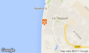Carte Le Touquet Studio 30785