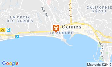 Carte Cannes Studio 79486