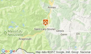 Carte Saint Lary Soulan Appartement 112136