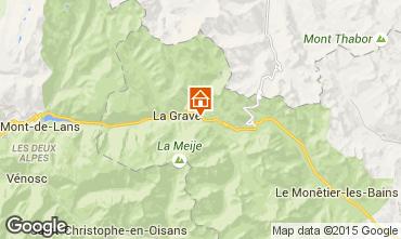 Carte La Grave - La Meije Appartement 79479