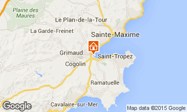 Carte Saint Tropez Appartement 5689