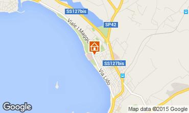 Carte Alghero Appartement 51323