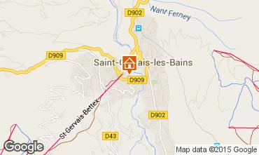 Carte Saint Gervais Mont-Blanc Appartement 66211