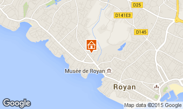 Carte Royan Appartement 92504