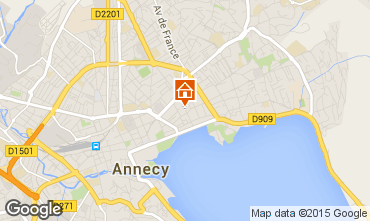 Carte Annecy Studio 95281