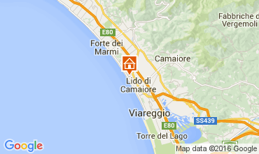 Carte Marina di Pietrasanta Villa 104237