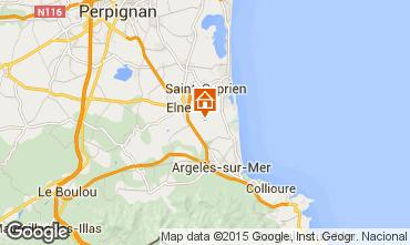 Carte Argeles sur Mer Maison 31430