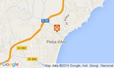 Carte Playa d'Aro Appartement 98671