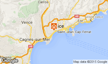 Carte Nice Appartement 101412