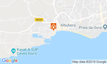 Carte Albufeira Appartement 117860