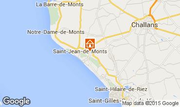 Carte Saint Jean de Monts Mobil-home 101462